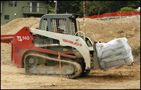 Takeuchi TL140 compact-track-loader