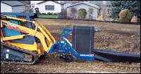 Burchland XTS silt fence installer