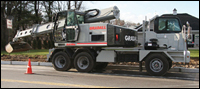 Gradall XL5100 III wheeled excavator
