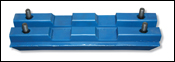 BLS TUFPADS Blue track pads