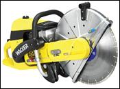Wacker BTS 1140L3 cutoff saw