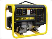 Wacker portable generator