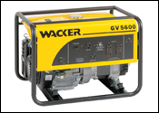 Wacker GV series portable generators