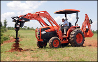 Kubota's Grand L40-series compact utility tractor