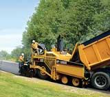 Caterpillar AP-1000D asphalt paver