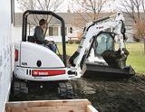 Bobcat 425 ZTS mini-excavator