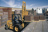 Case G Series rough-terrain forklift