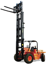 Xtreme Manufacturing's XT-B Series straight-mast forklift