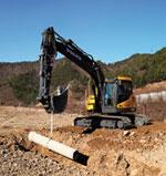 Volvo ECR145CL and ECR215CL Excavators