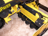 Bomag 6615 paver's Mega Feed system