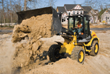 New Holland W80TC compact wheel loader