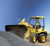 Yanmar V4-6 compact wheel loader