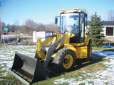 Coyote compact wheel loader