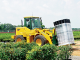 Kawasaki compact wheel loader