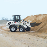 Terex compact wheel loader