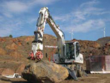 Terex WS cutting attachments
