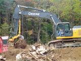 Nye Manufacturing XSH4 stump harvester