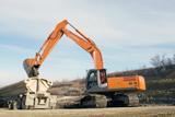 Hitachi Zaxix 350LC-3 excavator