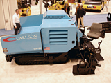 Carlson CP-90 asphalt paver