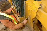 Field collection of construction equipment data