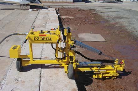 E-Z Drill 210B SRA slab-riding rock drill