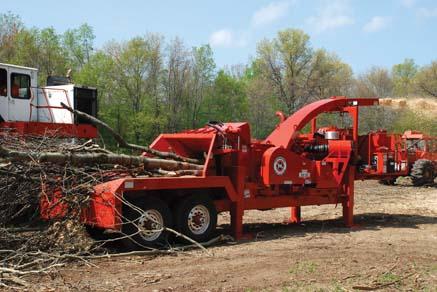 Morbark Model 40/36 Tree Chipper