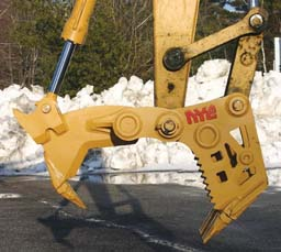 Nye XSH5 Stump Harvester Attachment
