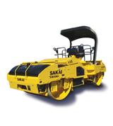Sakai SW880 Double-Drum Asphalt Compactors
