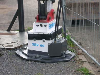 Stehr SBV 60 H Plate Compactor