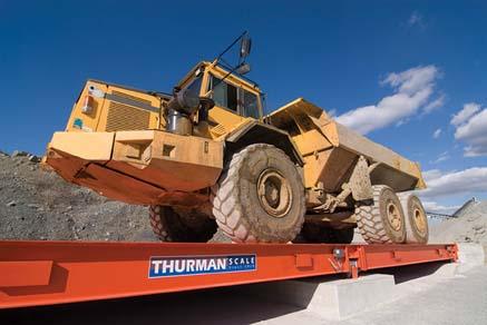 Thurman DiamondBack Truck Scale