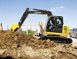 John Deere 75D excavator