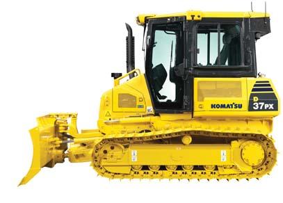 Komatsu D37PX 22 crawler dozer