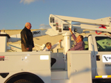 Boom truck safety inspection