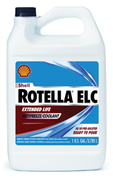 Shell Rotella coolant