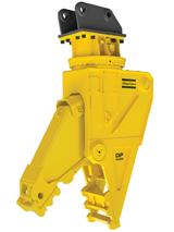 Atlas Copco DP 2000 pulverizer attachment