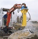 Atlas Copco PB 110 Penta Series Hydraulic Breaker Attachment