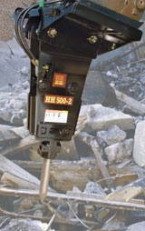 Huskie HH 500-2 Hydraulic Hammer Attachment