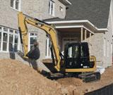 Caterpillar 308D CR SB Mini Crawler Excavator