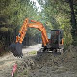 Doosan DX60R Mini Crawler Excavator