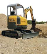 Gehl 283Z Mini Crawler Excavator