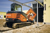 Hitachi ZX60USB-3 Mini Crawler Excavator
