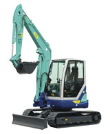 IHI 55NX Mini Crawler Excavator