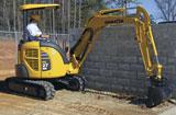 Komatsu PC27MR-3 Mini Crawler Excavator