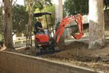 Kubota U15 Mini Crawler Excavator