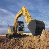 New Holland E70B Crawler Excavator