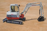 Takeuchi TB235 Mini Crawler Excavator
