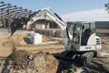 Terex TC48 Mini Crawler Excavator