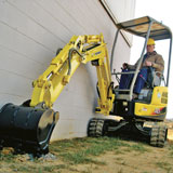 Yanmar ViO17 Mini Crawler Excavator