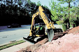 Caterpillar 308D CR mini excavator