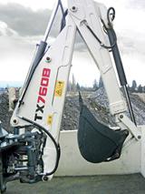 HKX hydraulic kits for Terex backhoe loaders